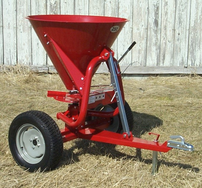 Compact Tractor Seeder : Farm star pull type seeder spreader